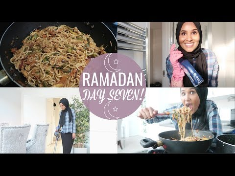 Cook & Clean With Me, A Casual Home Day  RAMADAN #DAY7  Zeinah Nur