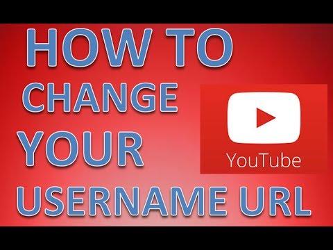 How to change your YouTube username URL 2014