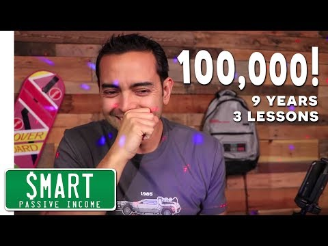 100,000 Subscribers!  🎉 (9 Years and 3 Key Lessons)
