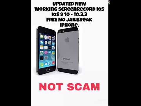 ‪How To Screen Record iPhone iOS 9 / 10 - iPhone 5/5s/5c/6/6s Screen For Free!‬