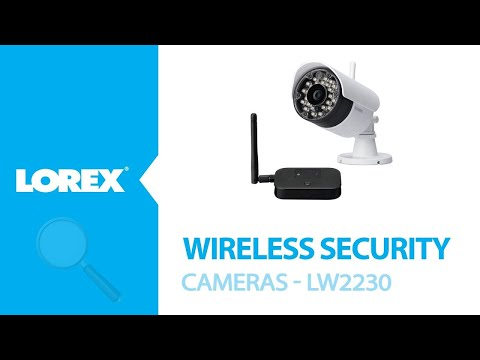New Lorex Wireless Security Camera - LW2230