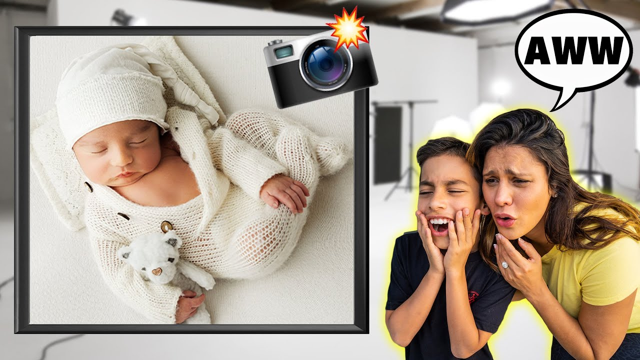 Baby Milan's First Photoshoot! **SO ADORABLE** | The Royalty Family