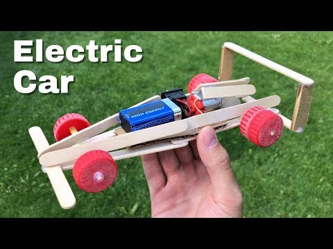 How to Make Mini Electric F1 Car - Tutorial