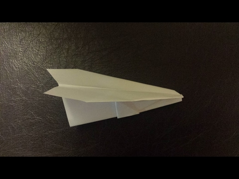 How To Make The Paper Airplane --Glider