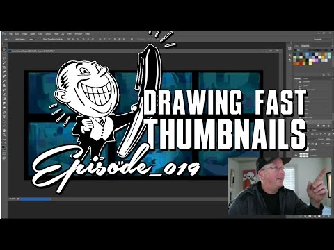 How To Draw Fast Loop Thumbnails for Concept Art.