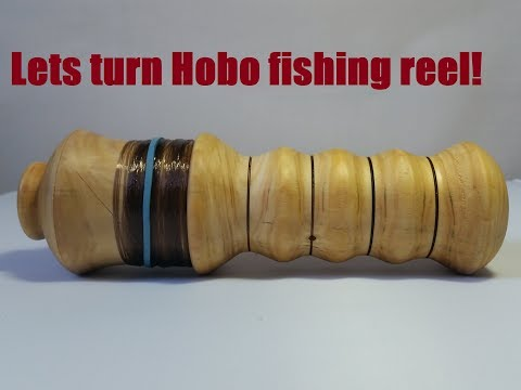 Woodturning - Hobo fishing reel?? lets make one ;D Complete step by step guide