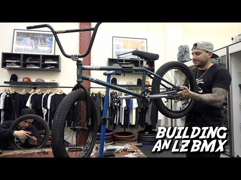 ADAM LZ STRANGER BMX BIKE BUILD!