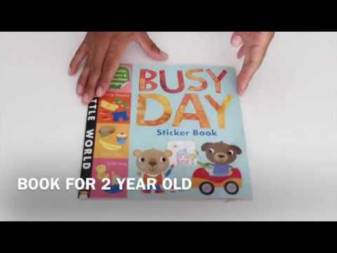 BUSY DAY STICKER BOOK - FOR MY 2 YEAR OLD
