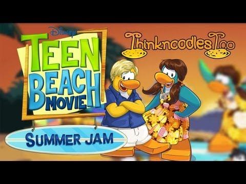 Club Penguin: Surfs Up Teen Beach Movie Summer Jam 2013 Walkthrough