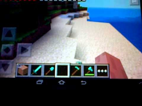 Minecraft Pocket Edition: How To Drop Items