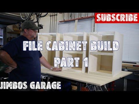 Wood File Cabinet Build - Part 1