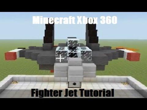 Minecraft Xbox 360 Fighter Jet Tutorial