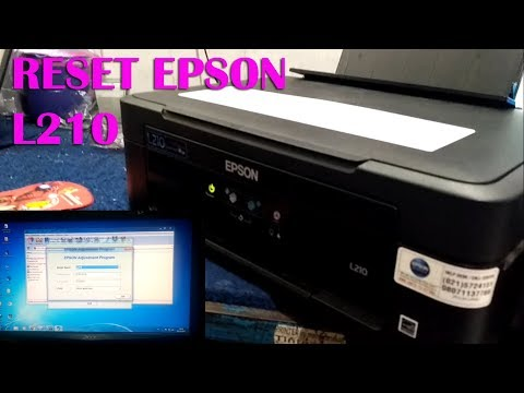Cara Reset Epson L210 Waste Ink Pad Counter 100 % Works