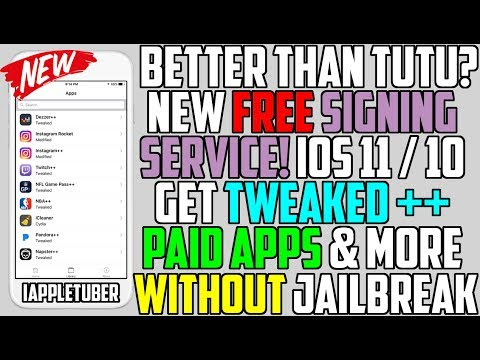 Better Than Tutu Helper? How To Get Tweaked ++ Apps, Paid App FREE & More (NO Jailbreak NO Computer)
