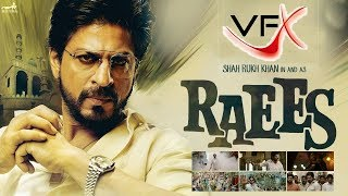 Green Screen Effects Used In Hindi Movie Raees