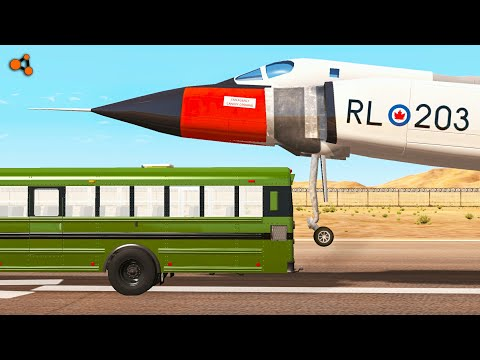Beamng Drive - Aircraft Crashes #3, Avro Arrow (plane crashes)
