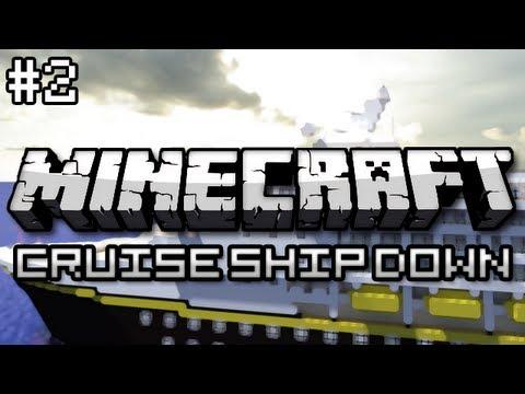 Minecraft: Cruise Ship Down Part 2 - The Lower Decks