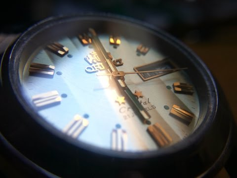 Watch Crystal Replacement: Orient Tristar