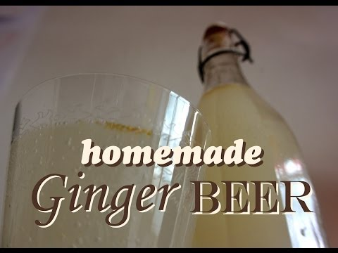 How to make ginger beer? An easy recipe for ginger ale by Wasteless Wednesday