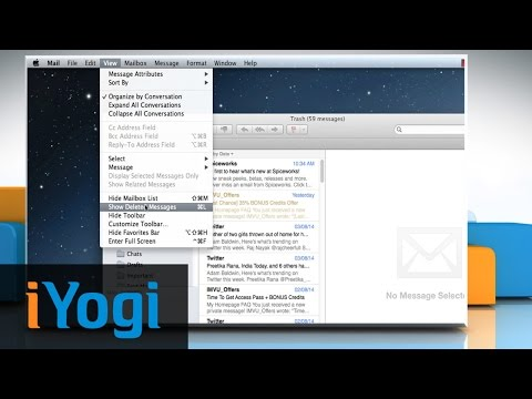 How to view deleted messages in the Mail app of Mac® OS X™ Mavericks