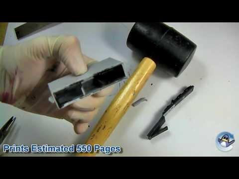 Inside HP 364XL Black Ink Cartridge (CN684EE)