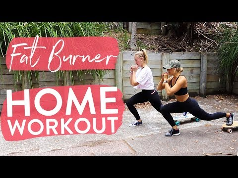 FULL BODY FAT BURNER Home Workout | Beginners + Advanced Circuit