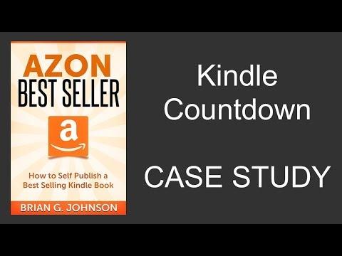 Kindle Countdown Deals, Promotions - Case Study