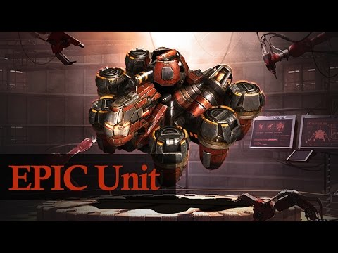 Grey Goo - Hand of Ruk | EPIC Unit in Action [1080p/HD]