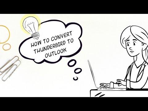 How to Convert Mozilla Thunderbird to Outlook 2016 , Outlook 2013 ...