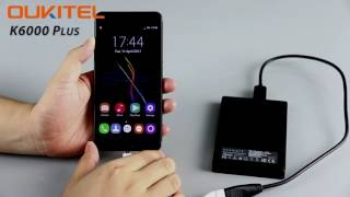 OUKITEL K6000Plus challenges to support 2TB HDD