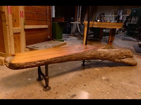 DIY Driftwood Bench, How To