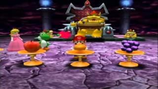 Mario Party 4 Minigame Bowser Wrestling Yoshi V S Daisy