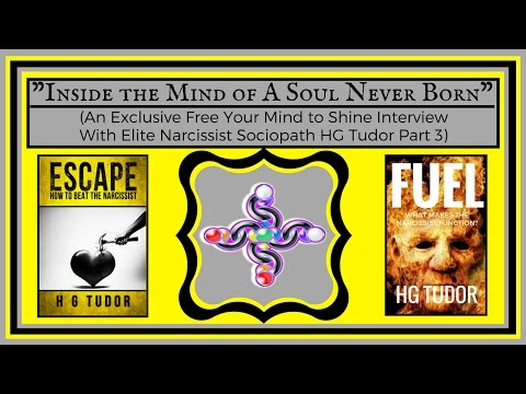 1-ON-1 INTERVIEW WITH NARCISSIST SOCIOPATH - HG TUDOR (PART 3)