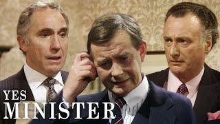 Jim Goes AWOL, Humphrey Is Apoplectic | Yes Minister | BBC Comedy Greats