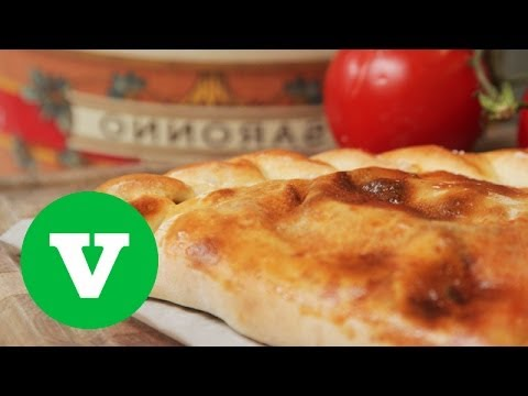 How To Make A Vegetarian Calzone | Good Food Good Times World Cup 2014 Special