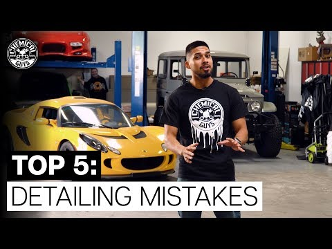 Detailing Fails: Top 5 Common Detailing Mistakes! - Chemical Guys