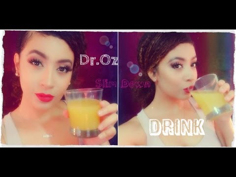 DIY: Dr. Oz Swim Suit Slim Down Drink / Burn Fat Cells