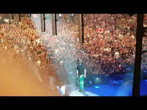 TRAGICALLY HIP Farewell to London Crowd LONDON ONTARIO August 8 2016
