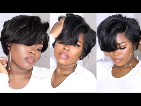 How I Made, Cut, & Styled A Short Bob With A 360 Frontal & A Bundle From Lakihair