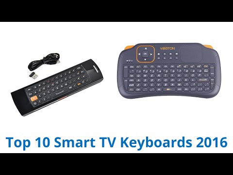 10 Best Smart TV Keyboards 2016