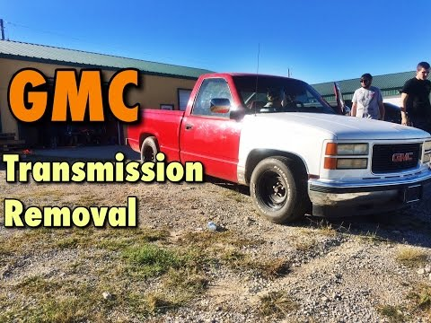EASY! 1988-1998 GMC 2WD Transmission Removal