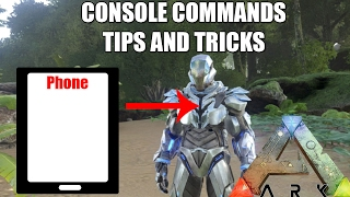 How To Use Ark Survival Admin Commands! - (PS4/Xbox One) | Daikhlo