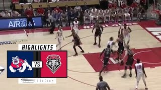 Fresno State vs. New Mexico Basketball Highlights (2018-19) | Stadium