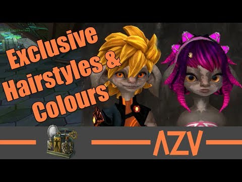 GW2: 🔥 All exclusive Asura hairstyles, faces, and colours 🔥