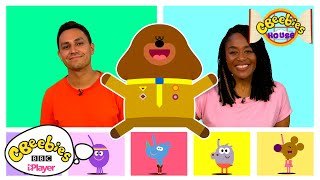 Five Little Ducks   HEY DUGGEE Counting Song with CBeebies Presenters Joanna and Ben