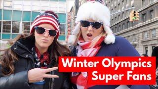 Comedy Sketch: Winter Olympics Super Fans