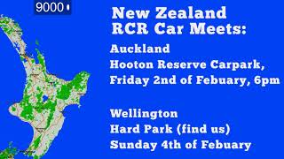 RCR New Zealand Car Meets