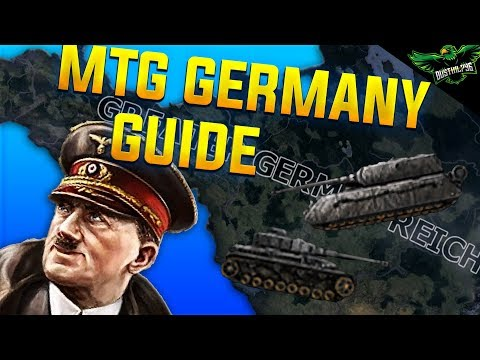Hearts of Iron 4 Man the Guns Germany Guide 1936 - 1945