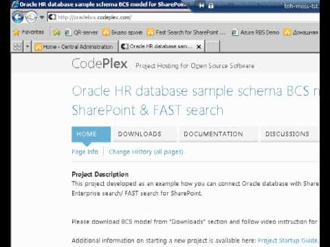 How to connect Oracle database to SharePoint 2010 & FAST search