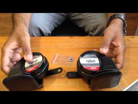 How to replace and install better horns in your Honda Accord! 2013-2017